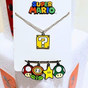 Nintendo Jewelry - 🌟Super Mario Bros Charm Necklace Retro Nintendo🍒